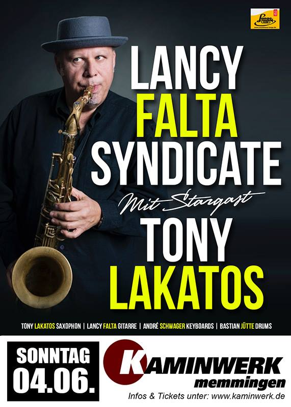 Lancy Falta Syndicate mit Stargast Tony Lakatos